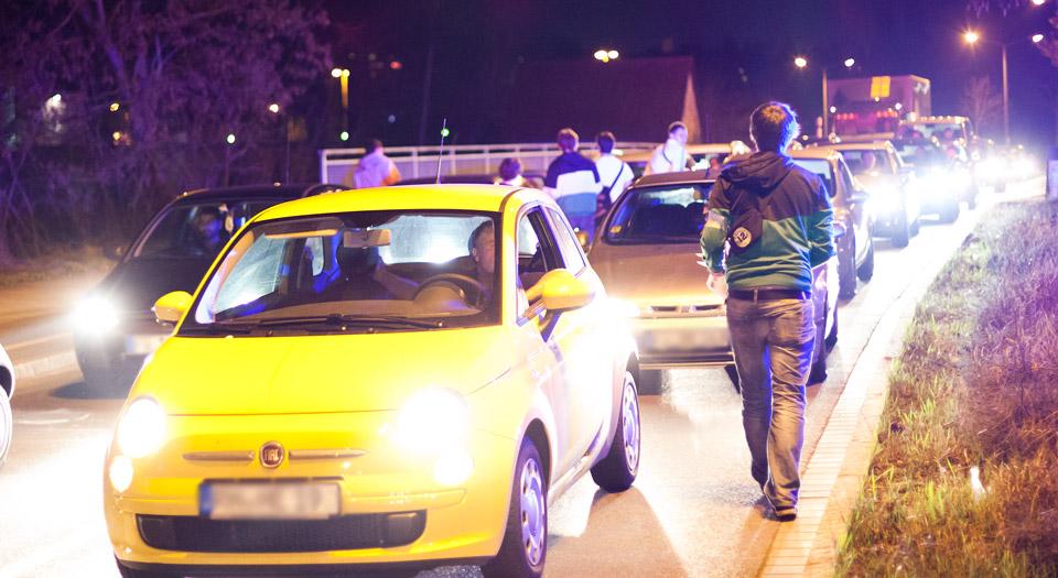 Demo Kennzeichnungspflicht für Polizisten