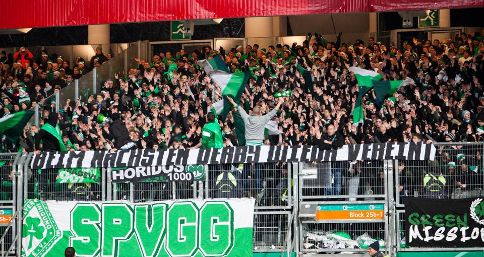 Bda Nürnberg derby dfb pokal achtelfinale nürnberg spvgg fürth dienstag