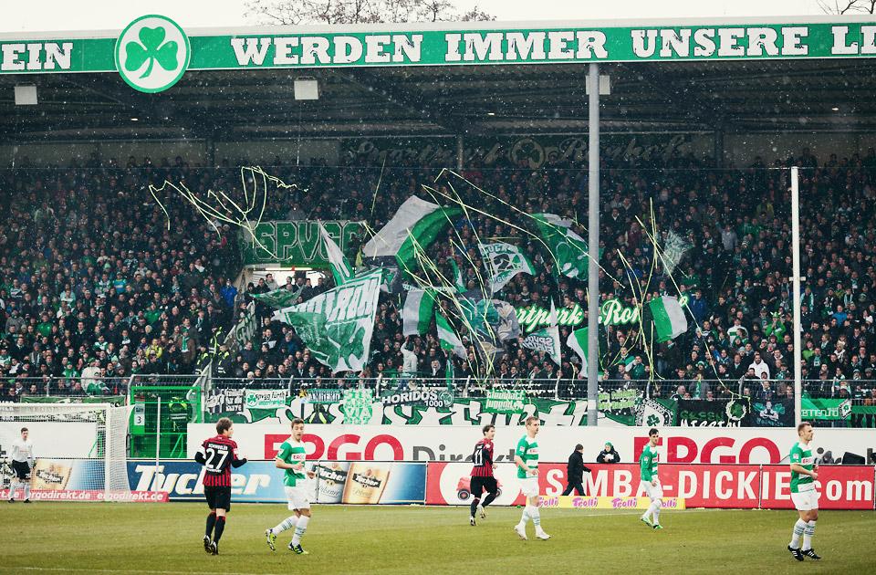 SpVgg Fürth – Eintracht Frankfurt