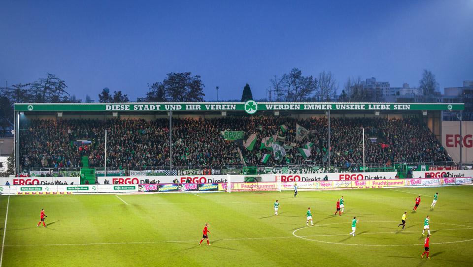 SpVgg Fürth – Leverkusen, Sportpark Ronhof