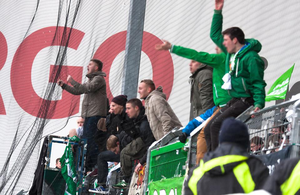 Fürth – Wolfsburg Gästeblock