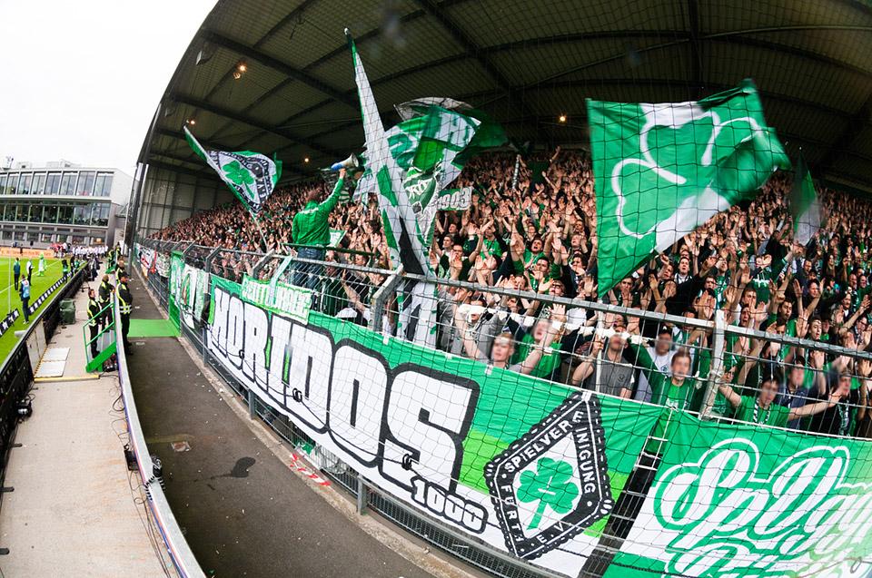 Relegation SpVgg Fürth – Hamburger SV
