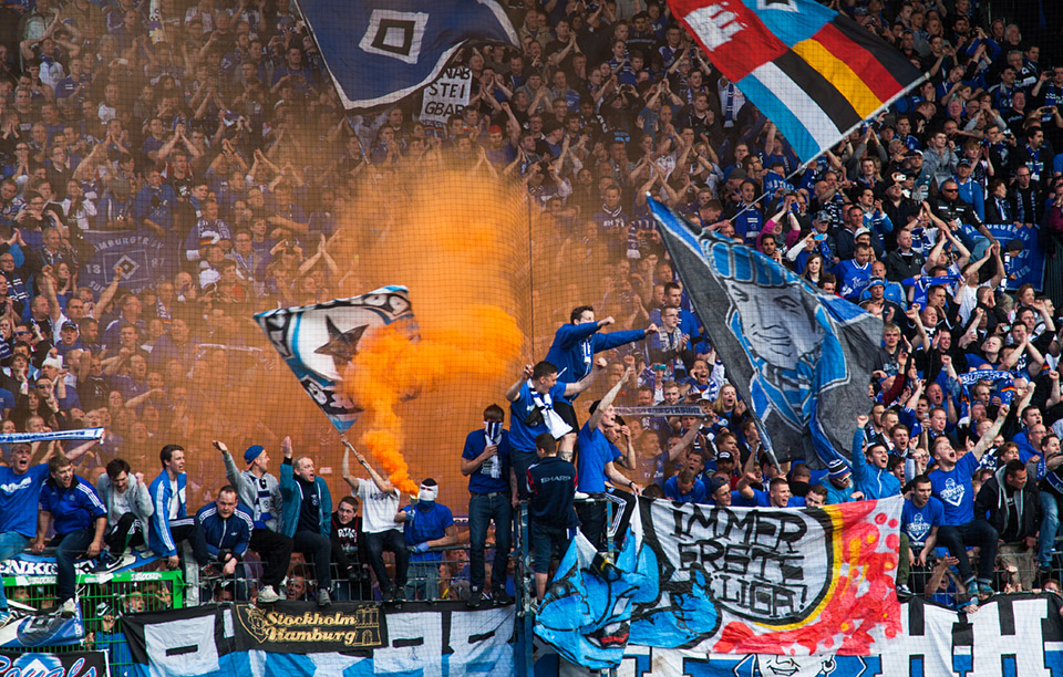 Relegation SpVgg Fürth – Hamburger SV Gästefans