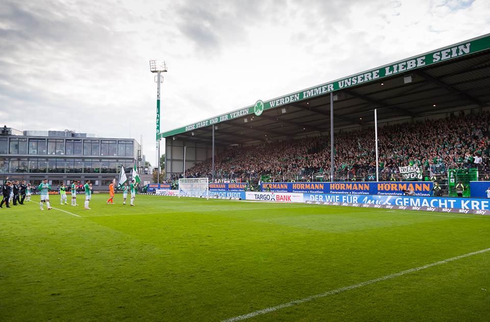 Relegation SpVgg Fürth – Hamburger SV