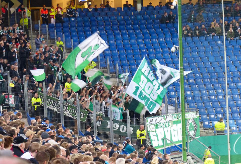 Fürth – HSV DFB Pokal