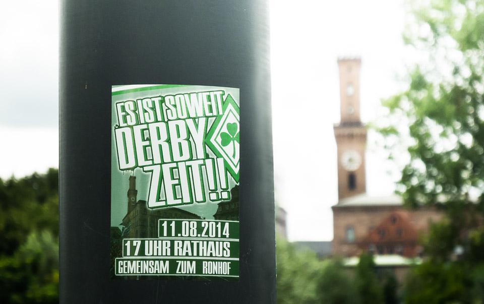 Derby Aufruf Fürth
