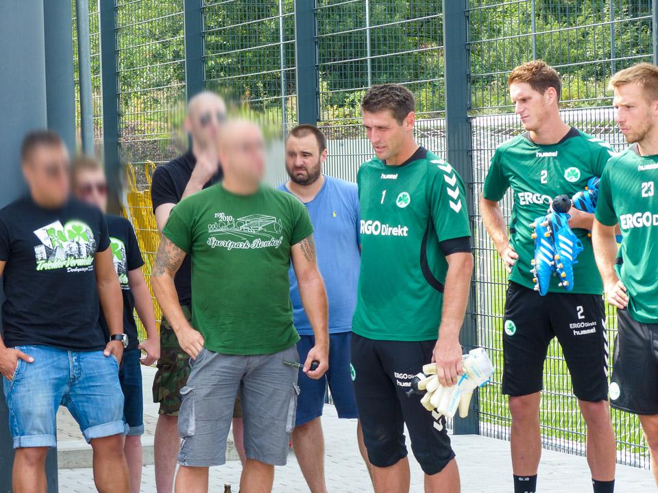 Abschlusstraining Derby SpVgg Fürth