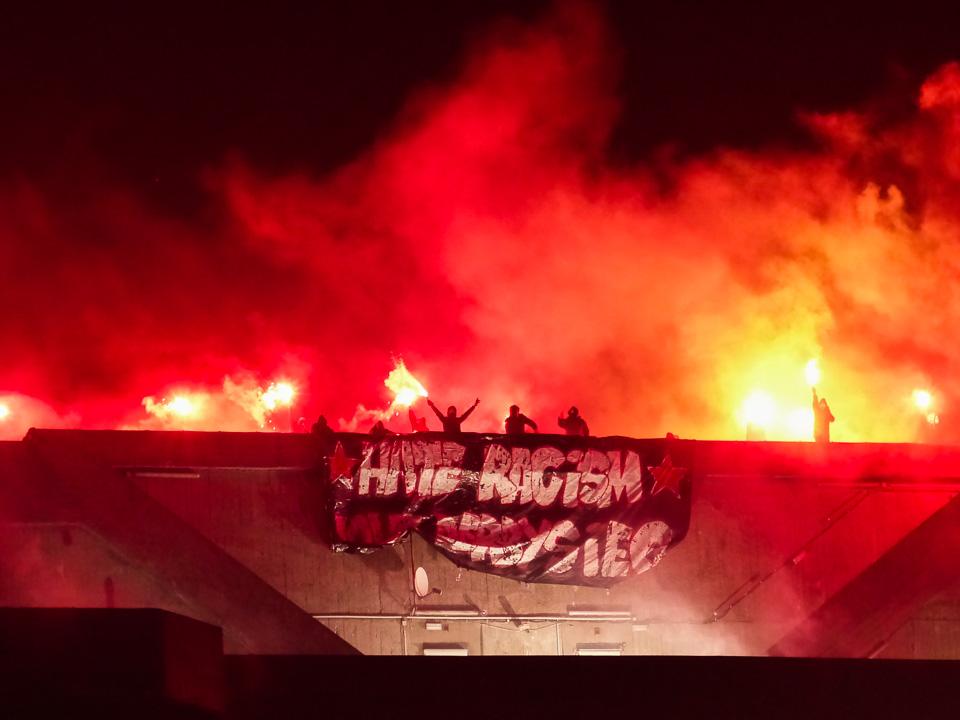 St.Pauli Bunker Pyro