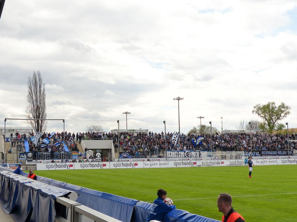 FSV Frankfurt Heimkurve