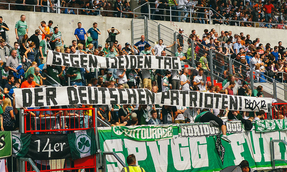 St.Pauli – SpVgg Fürth Gästeblock