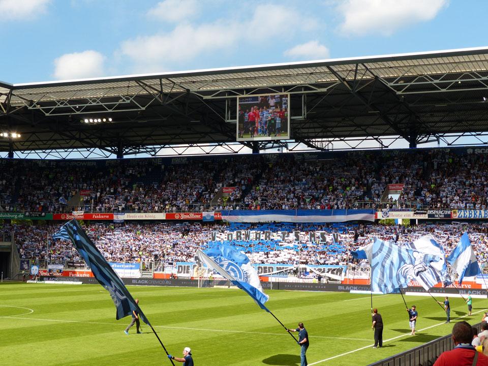 MSV Duisburg – SpVgg Fürth Heimfans
