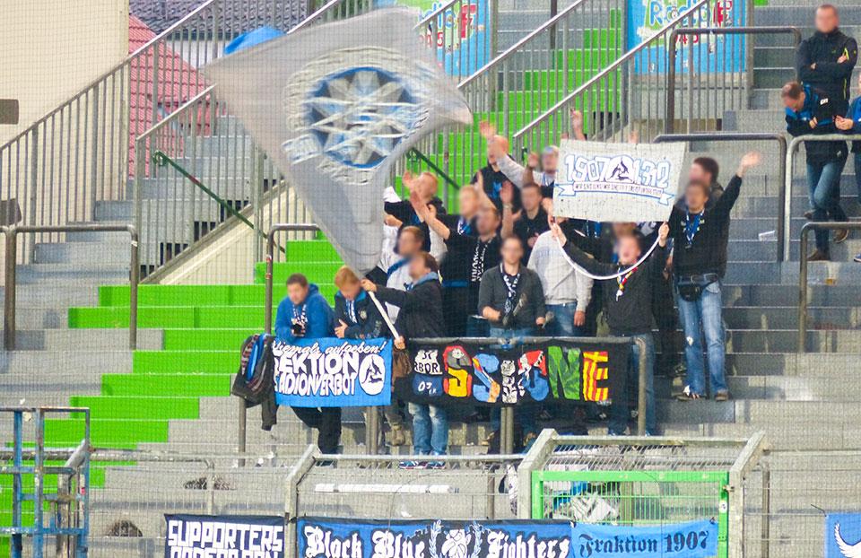 SpVgg Fürth – Paderborn Gästefans