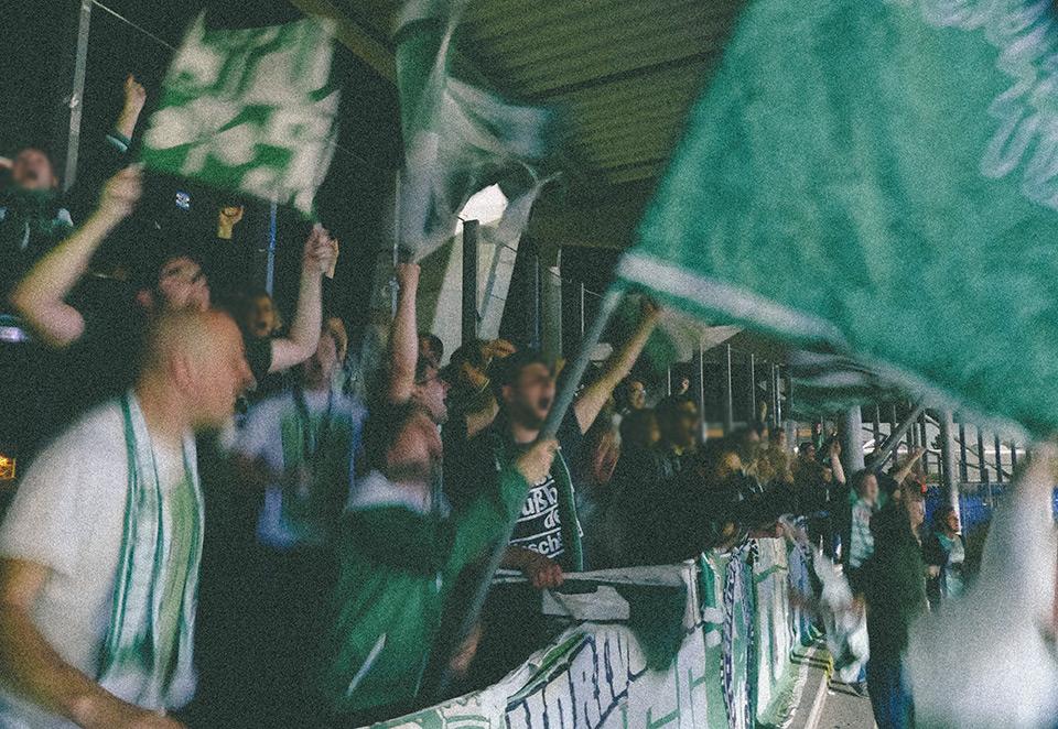 Eintracht Braunschweig – SpVgg Fürth Gästeblock