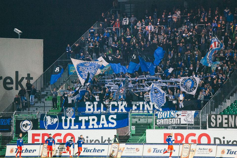 Fürth – Bielefeld Gästefans