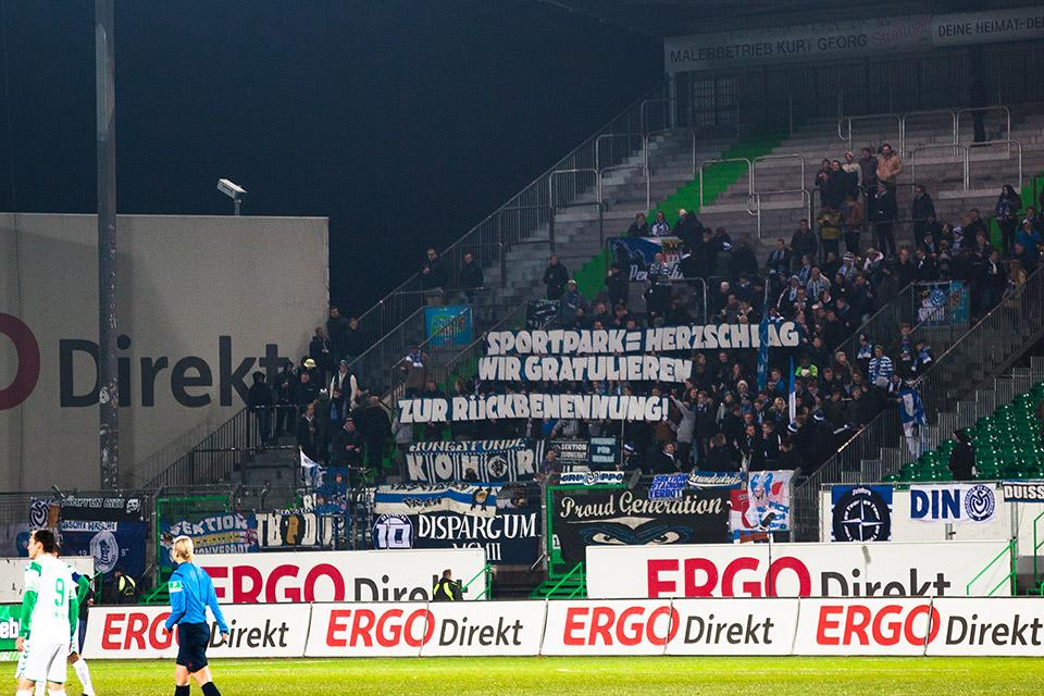 SpVgg Fürth – MSV Duisburg Gästefans