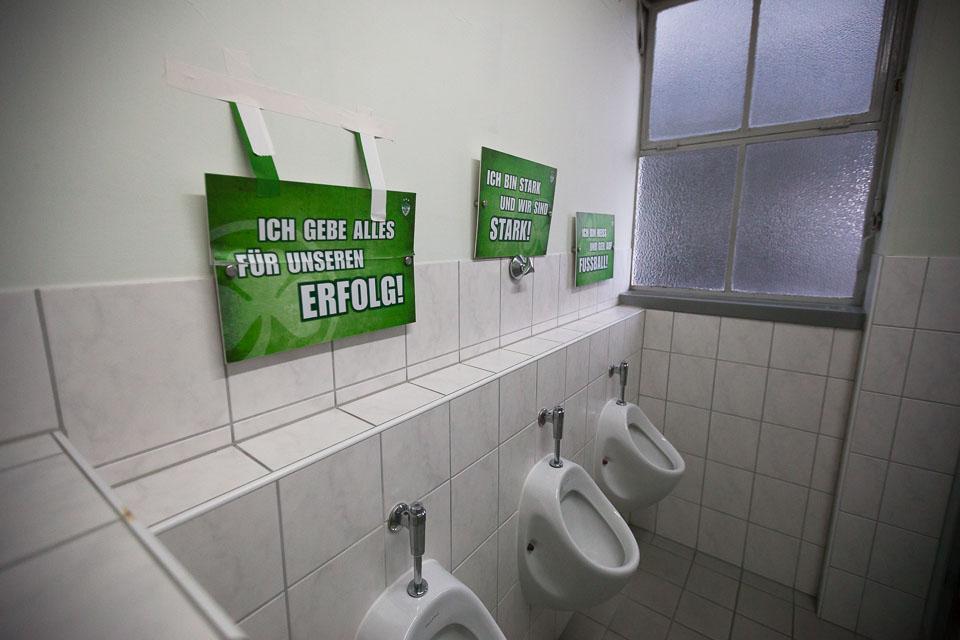 Sportpark Ronhof – Abschiedsfeier Haupttribüne