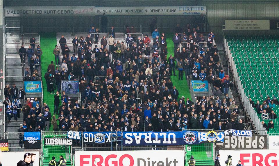SpVgg Fürth – Bielefeld Gästefans Boykott