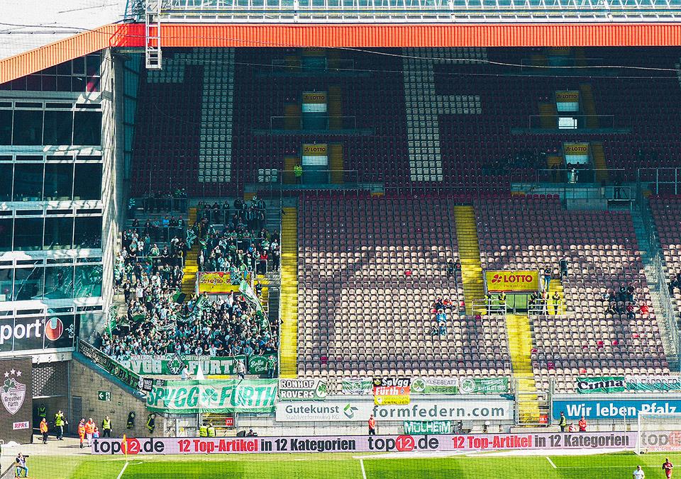 Kaiserslautern - SpVgg Fürth