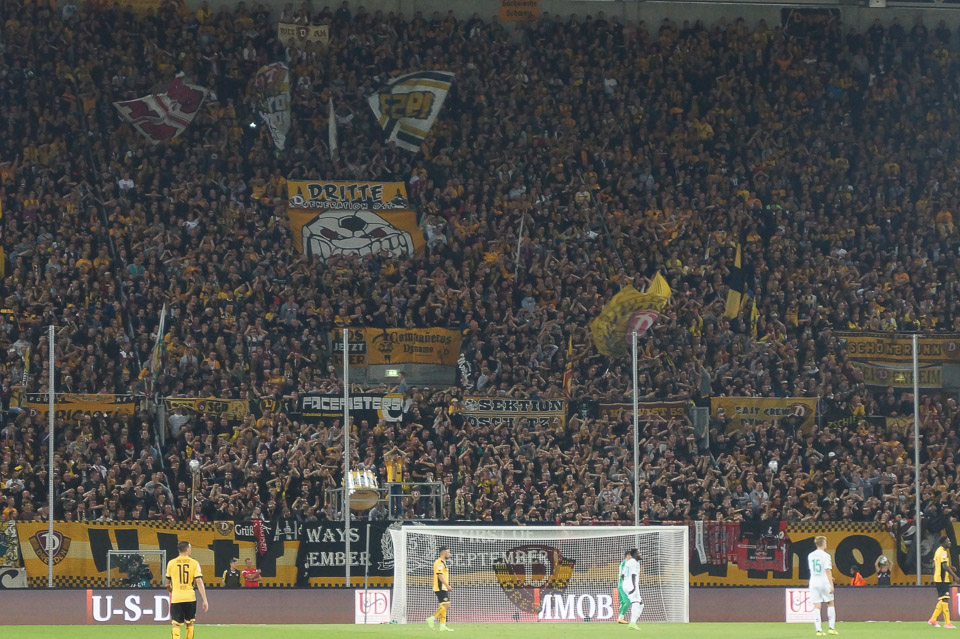 Dynamo Dresden – SpVgg Fürth/
