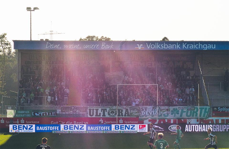 Sandhausen – SpVgg Fürth