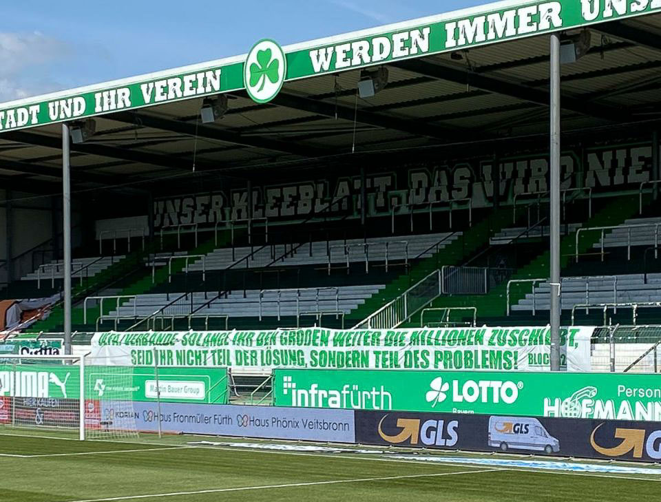 SpVgg Fürth - KSC